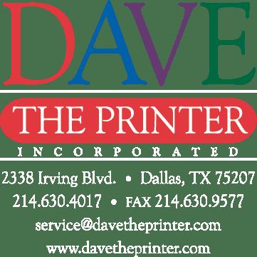 Dave the Printer of Dallas - Printing Services