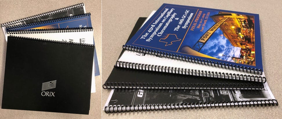 Coil Bound Catalog Printing Services by Dave the Printer